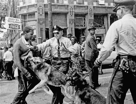 civil rights movement police brutality how photography shifted the balance of the civil rights
