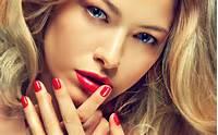 Blonde Hair Applying Eyeliner For Blue Eyes Ash Color
