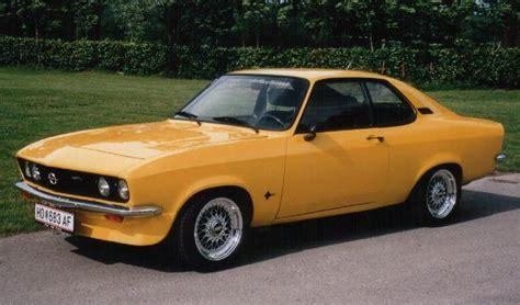 opel manta a cars one