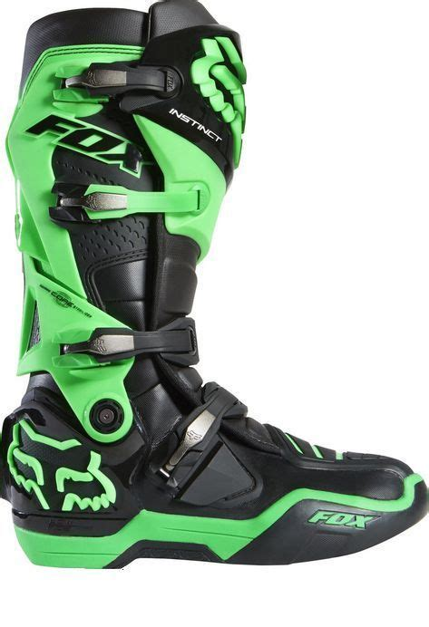 motocross boots size 13 fox racing 2015 le glo green instinct boots size 13