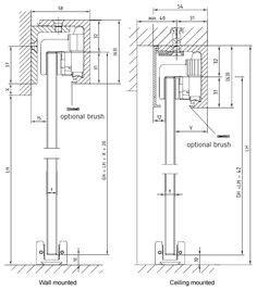 barn door detail wooden sliding door mechanism search