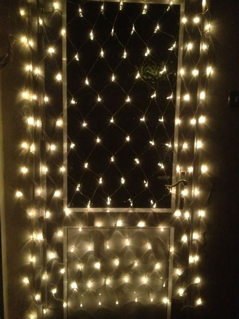 150 clear white net micro lights low voltage tree wall