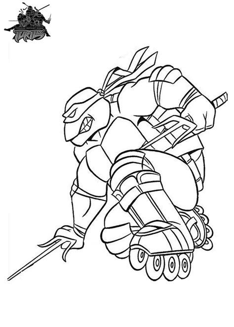 images  ninja turtle coloring pages