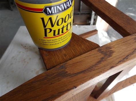 Kitchen Cabinet Gel Stain filling those unwanted holes minwax blog