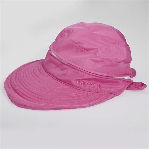 detachable summer golf anti uv wide visor brim
