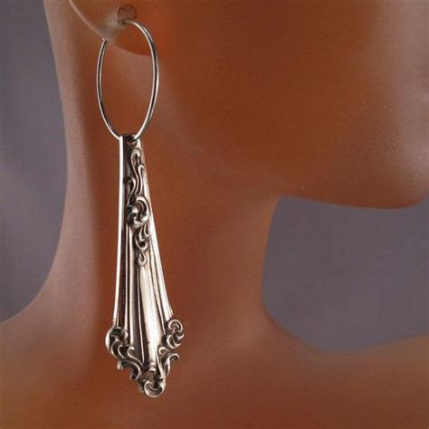 antique spoon earrings spoon jewelry