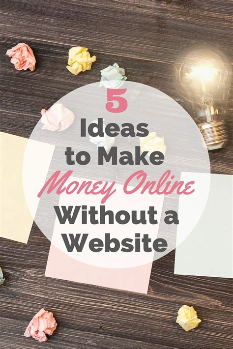 Websites To Make Money Online - make money online without a website