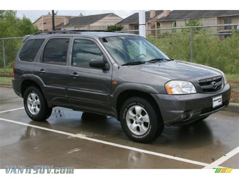2003 mazda tribute es v6 4wd in titanium gray
