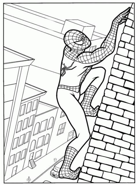 dibujos para colorear de spider man gratis spiderman dibujos para colorear