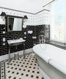 badezimmer schwarz weiß badezimmer ideen in schwarz wei 223 45 inspirierende beispiele