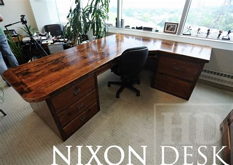 Lawyer Desk L by Reclaimed Wood Desks Lawyer Toronto Gerald Reinink 11