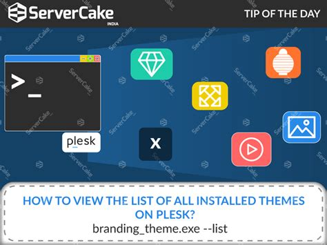 all themes list how to view the list of all installed themes in plesk