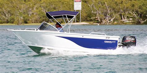 cheap fishing boat hire gold coast procraft boats pack a punch on a budget bnb fishing mag