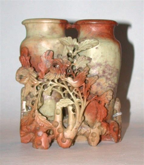 Japanese Soapstone Carvings 17 best images about carved soapstone on auction vase and seals