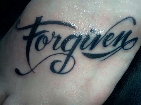 forgive tattoo designs forgiven ink