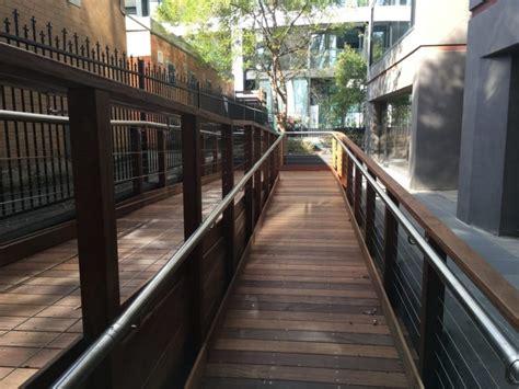durable outdoor ramp  porta cumaru timber porta