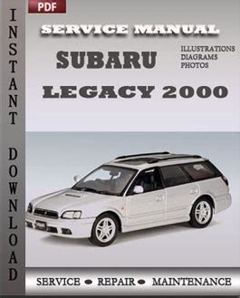 old car repair manuals 1996 subaru legacy interior lighting subaru legacy 2000 service manual pdf repair service manual pdf