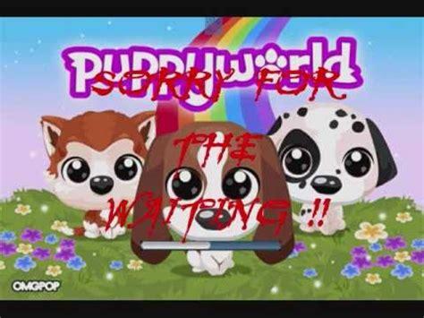 puppy world puppy world by omgpop