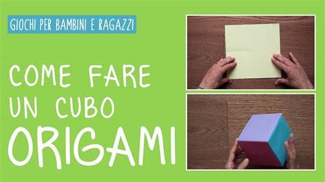 tutorial come fare un drum come fare un cubo origami con la carta tutorial youtube
