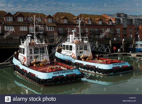 old boat at portsmouth england hshire old portsmouth harbour stock photos
