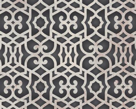 moroccan pattern wall stencil wall stencil pattern small chez sheik moroccan stencil for