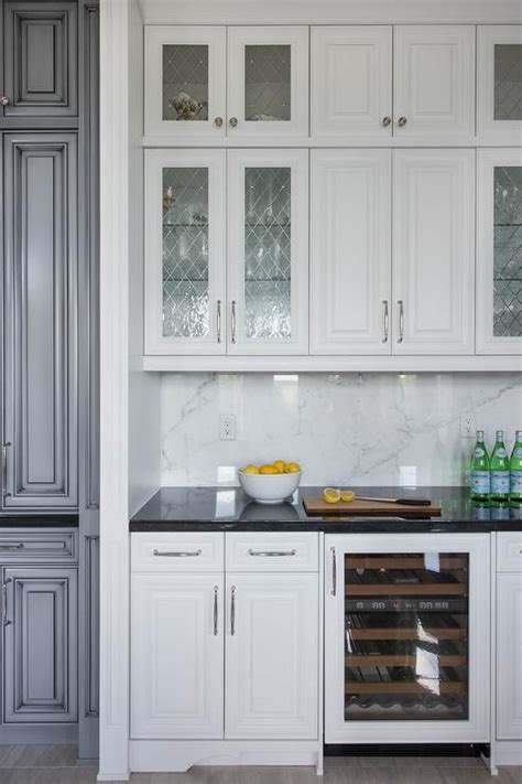 White Glass Door Kitchen Cabinets Inspiring White Kitchen Cabinets With Glass Doors 49 In Home Design With White Kitchen