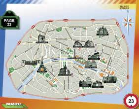 landmarks map map of landmarks