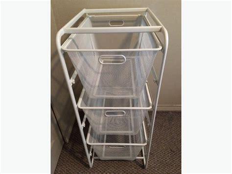 Used Furniture Kitchener by Sold Ikea Algot Basket Drawer Closet Storage Unit