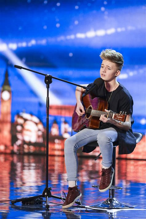bailey mcconnell impresses everyone on britain s got talent 2014 my phone is about to explode