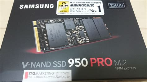 Diskon Ssd Samsung 950 Pro 256gb 自作パソコン新調します