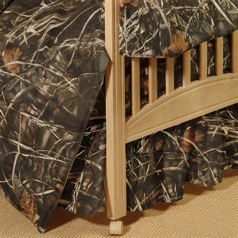 max 4 camo crib bedding realtree camo bedding realtree max 4 crib bedskirt camo