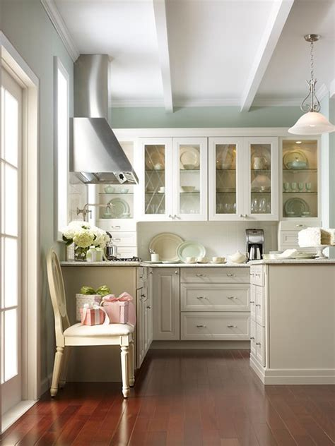 martha stewart kitchen cabinets transitional kitchen