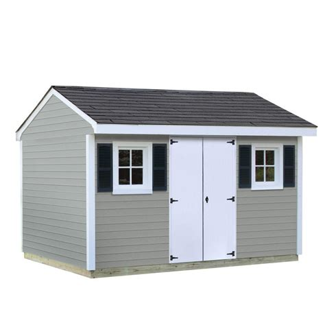 sheds usa installed classic 8 ft x 12 ft vinyl shed