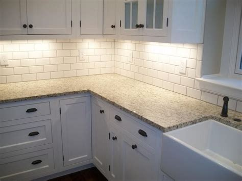 bloombety shade of white subway tile kitchen white