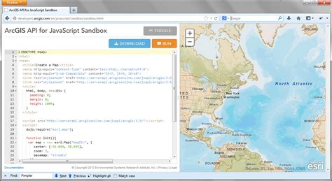 tutorial arcgis mobile the arcgis api for javascript sandbox building web and