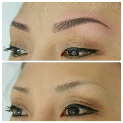 tattoo eyebrows training 344 best microblading semi permanent makeup images on