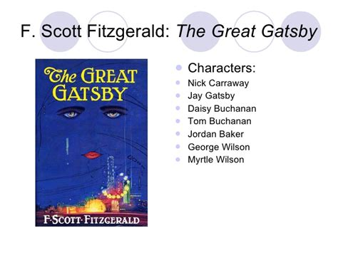 symbols in the great gatsby powerpoint smith powerpoint