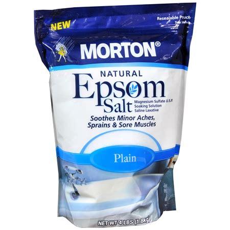 Morton Sea Salt Bromine Detox by Image Gallery Epsom Salt