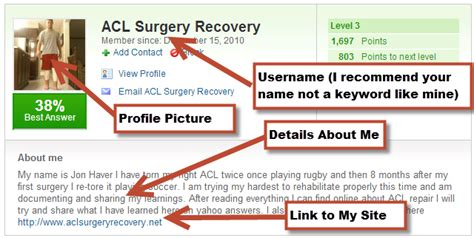 acl surgery recovery traffic diversion technique authority website income