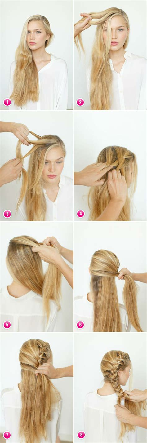 how to do hairstyles yourself creative hairstyles for long hair her beauty