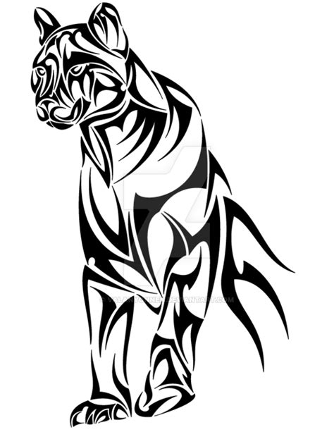 Panther Tribal by Valanyonnen on DeviantArt