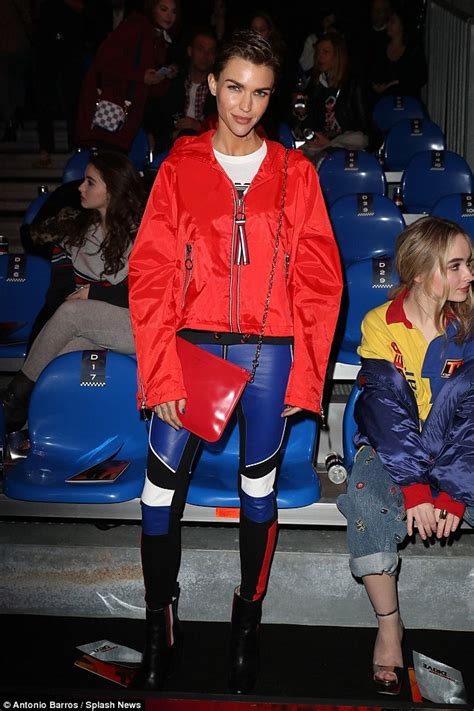 Shiny Fashion Tv The 25 High Challenge Us Edition by Milan Fashion Week Ruby Stuns In Leather