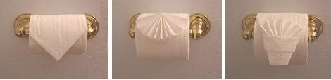 Fancy Toilet Paper Folds - images