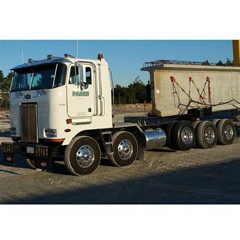 semi truck bed coe peterbilt twin steer pinterest peterbilt