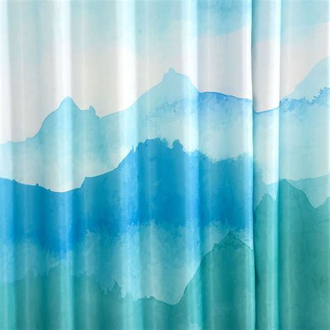 blue ombre curtains high end curtains window drapes custom curtains sale