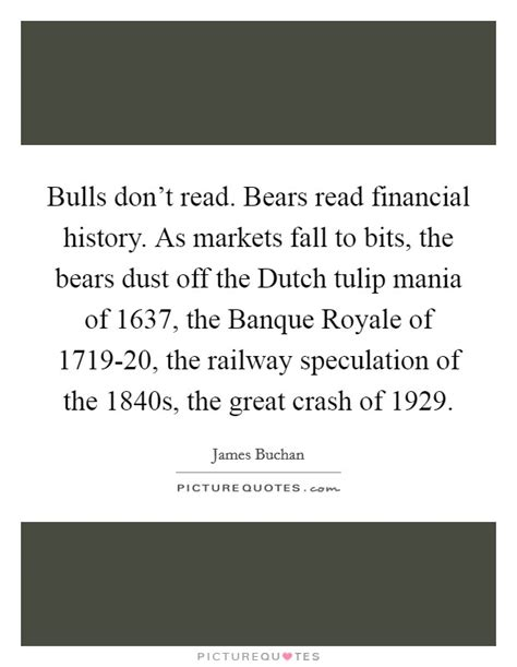 bears dont read bulls don t read bears read financial history as markets fall picture quotes
