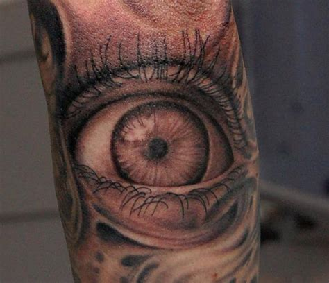 eyeball tattoo on arm the gallery for gt tribal sleeve tattoo ideas for girls