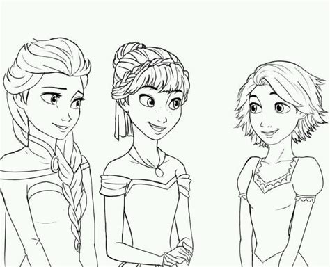 coloring book tangled and frozen for ages 4 10 books 17 best images about school age royality on