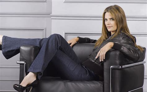 Jacqueline Sofa 70 Stana Katic Hd Wallpapers Background Images