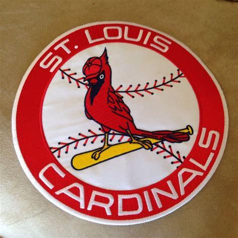 Kaos Sport Baseball Mlb Team St Louis Cardinals Original Gildan 9 quot st louis cardinals mlb baseball team logo iron on